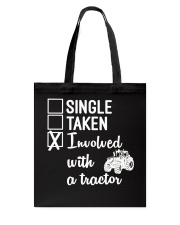 INVOLVED WITH A TRACTOR Tote Bag thumbnail