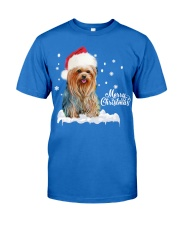 YORKSHIRE TERRIER CHRISTMAS Premium Fit Mens Tee front