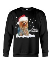 YORKSHIRE TERRIER CHRISTMAS Crewneck Sweatshirt thumbnail