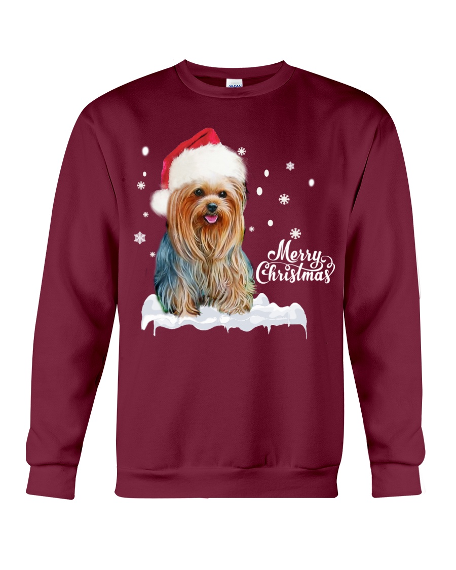 YORKSHIRE TERRIER CHRISTMAS Crewneck Sweatshirt