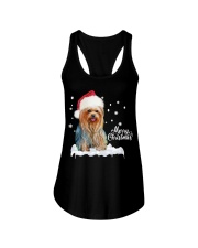 YORKSHIRE TERRIER CHRISTMAS Ladies Flowy Tank thumbnail