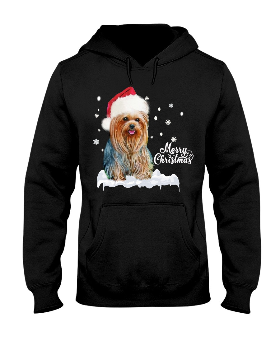 YORKSHIRE TERRIER CHRISTMAS Hooded Sweatshirt