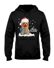 YORKSHIRE TERRIER CHRISTMAS Hooded Sweatshirt front