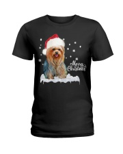 YORKSHIRE TERRIER CHRISTMAS Ladies T-Shirt thumbnail