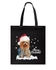 YORKSHIRE TERRIER CHRISTMAS Tote Bag thumbnail