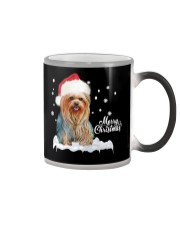 YORKSHIRE TERRIER CHRISTMAS Color Changing Mug thumbnail