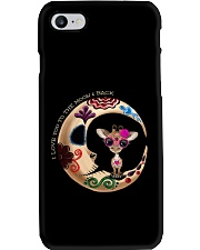 GIRAFFE LOVE YOU TO THE MOON AND BACK Phone Case thumbnail