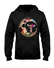 GIRAFFE LOVE YOU TO THE MOON AND BACK Hooded Sweatshirt thumbnail