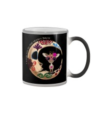 GIRAFFE LOVE YOU TO THE MOON AND BACK Color Changing Mug thumbnail