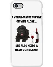 SHE ALSO NEEDS A-NEWFOUNDLAND Phone Case thumbnail