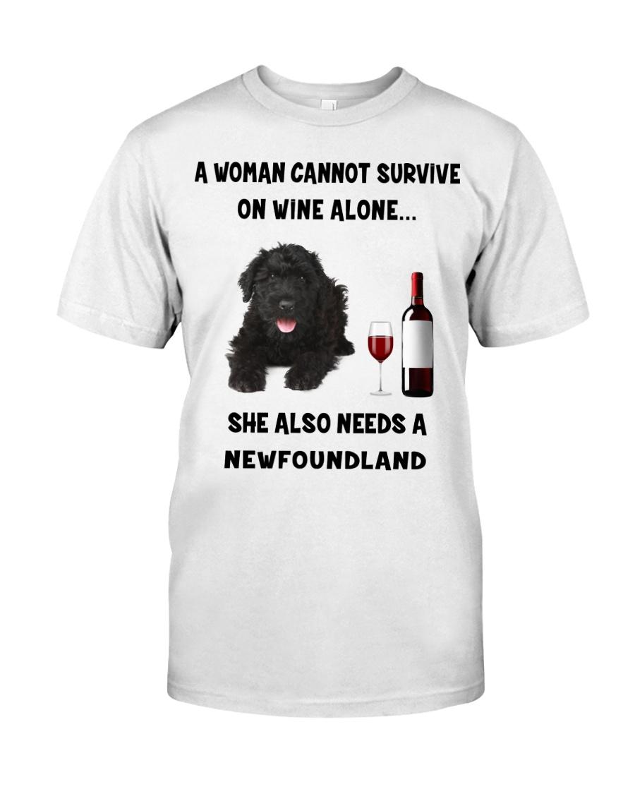 SHE ALSO NEEDS A-NEWFOUNDLAND Classic T-Shirt