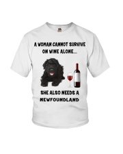 SHE ALSO NEEDS A-NEWFOUNDLAND Youth T-Shirt thumbnail