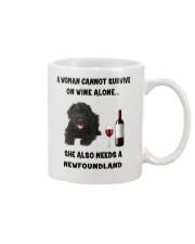 SHE ALSO NEEDS A-NEWFOUNDLAND Mug thumbnail