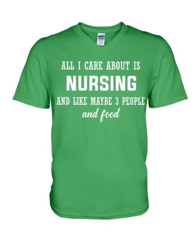 ALL I CARE ABOUT NURSING