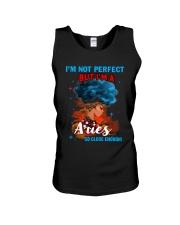 ARIES CLOSE ENOUGH TO PERFECT Unisex Tank thumbnail