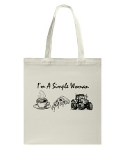 I'M A SIMPLE WOMEN Tote Bag tile