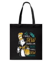 I WILL SEW HERE OR THERE Tote Bag thumbnail