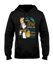 I WILL SEW HERE OR THERE Hooded Sweatshirt thumbnail
