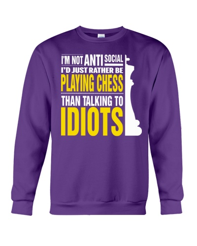 RATHER BE PLAYING CHESS