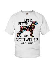 SHE ALSO NEEDS A ROTTWEILER Youth T-Shirt tile