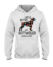 SHE ALSO NEEDS A ROTTWEILER Hooded Sweatshirt tile