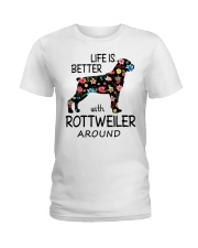 SHE ALSO NEEDS A ROTTWEILER Ladies T-Shirt tile