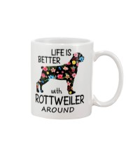 SHE ALSO NEEDS A ROTTWEILER Mug tile
