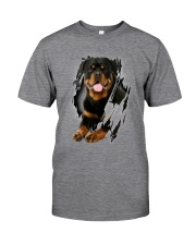 ROTTIE ON SHIRT Classic T-Shirt front