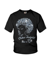SHINE BRIGHT Youth T-Shirt tile