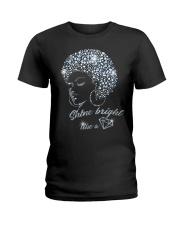 SHINE BRIGHT Ladies T-Shirt thumbnail