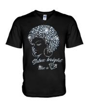 SHINE BRIGHT V-Neck T-Shirt thumbnail