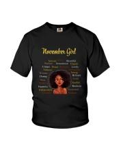 NOVEMBER GIRL Youth T-Shirt thumbnail