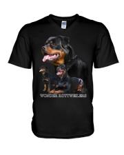 WONDER ROTTIES  V-Neck T-Shirt thumbnail