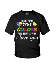 I SEE YOUR TRUE COLORS Youth T-Shirt thumbnail