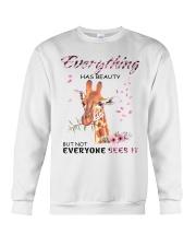 EVERYTHING HAS BEAUTY Crewneck Sweatshirt thumbnail