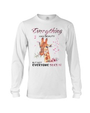 EVERYTHING HAS BEAUTY Long Sleeve Tee thumbnail