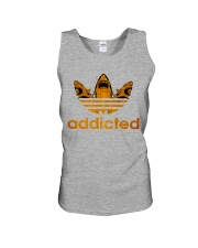 ADDICTED TO SHARK Unisex Tank front
