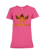 ADDICTED TO SHARK Premium Fit Ladies Tee front