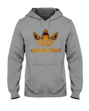 ADDICTED TO SHARK Hooded Sweatshirt front