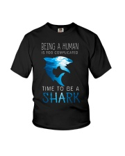 BE A SHARK Youth T-Shirt tile