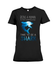 BE A SHARK Premium Fit Ladies Tee thumbnail