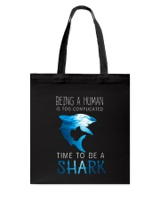 BE A SHARK Tote Bag tile