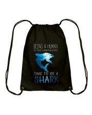 BE A SHARK Drawstring Bag thumbnail
