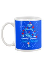 DOLPHINS CHRISTMAS Mug back