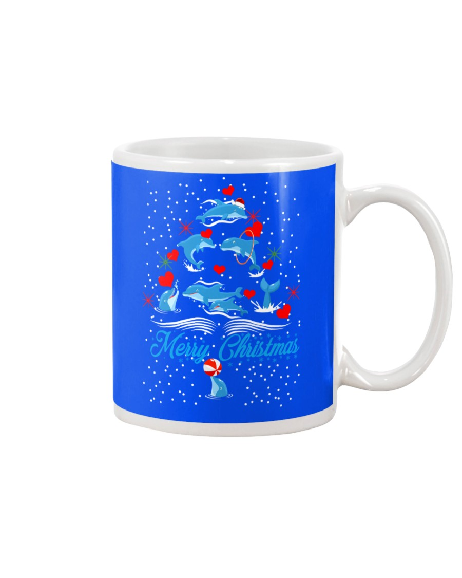 DOLPHINS CHRISTMAS Mug