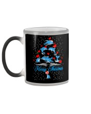 DOLPHINS CHRISTMAS Color Changing Mug color-changing-left
