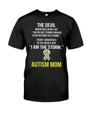 I AM THE STORM Premium Fit Mens Tee tile