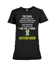 I AM THE STORM Premium Fit Ladies Tee tile