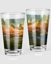 The gaslight grill 16oz Pint Glass front