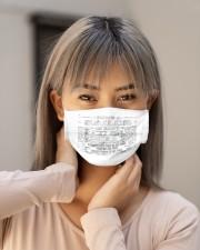 cycling 9 mask Cloth Face Mask - 3 Pack aos-face-mask-lifestyle-18